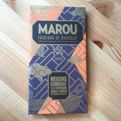 Marou - Kumquat in Dark Chocolate - 68%