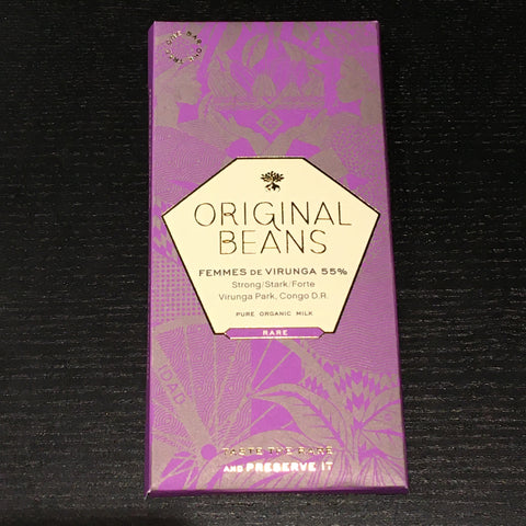 Original Beans - Femmes de Virunga - 55% dark milk