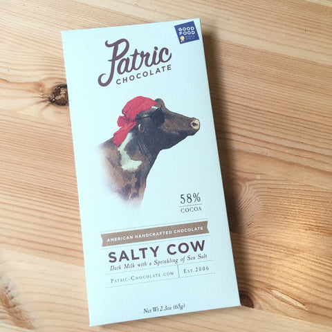 Patric - Salty Cow - 58% dark milk with salt