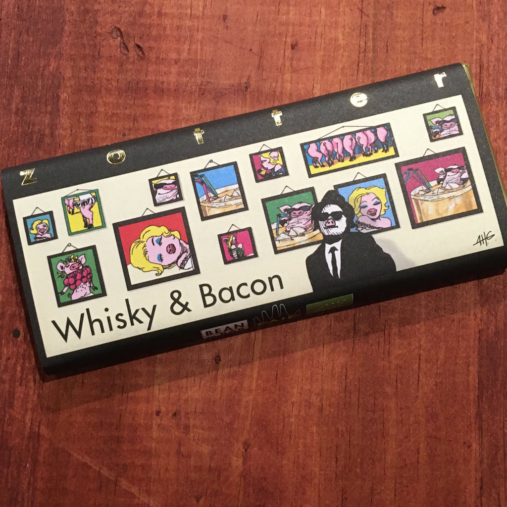 Zotter Whiskey & Bacon