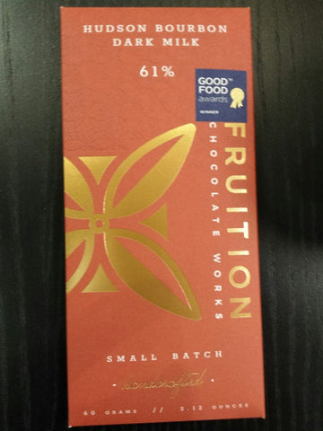 Fruition - Bourbon Dark Milk - 61%