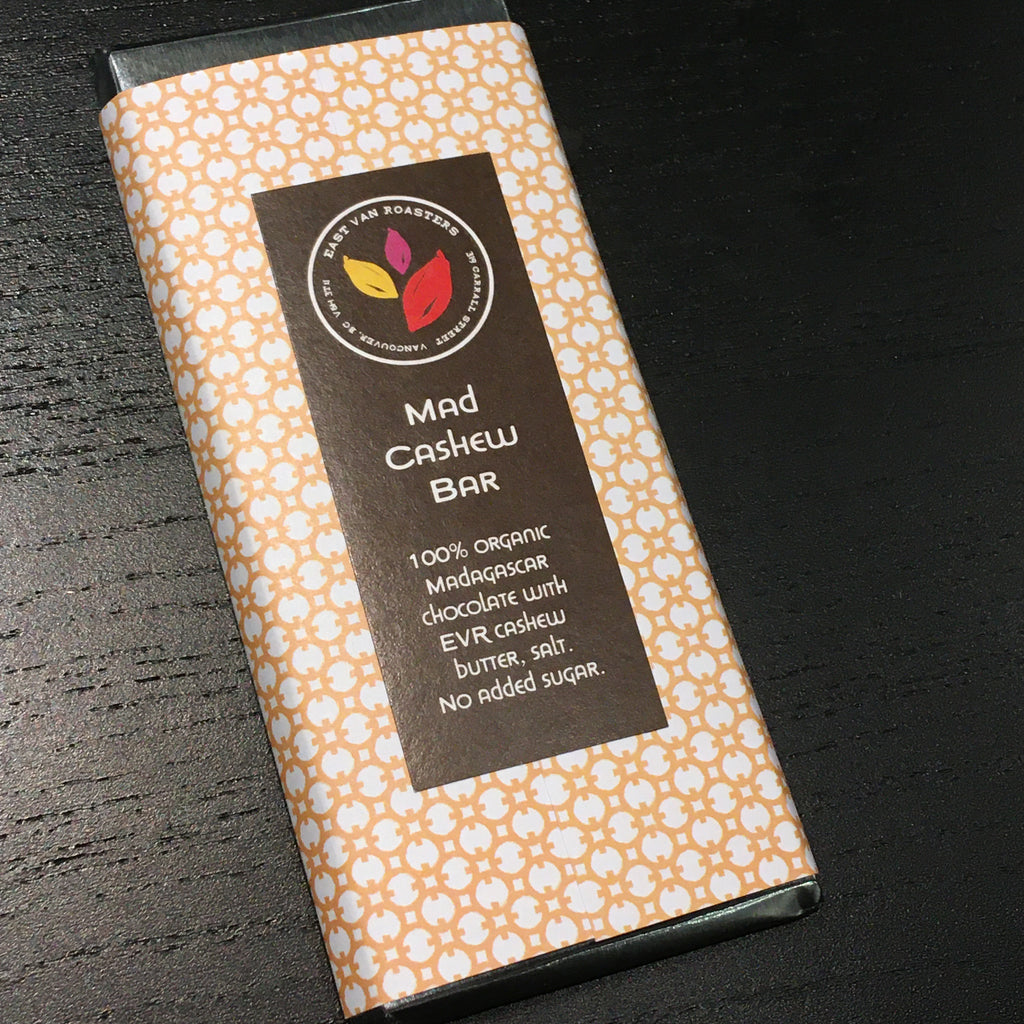 East Van Roasters - Mad Cashew Bar - 100% Limited Edition