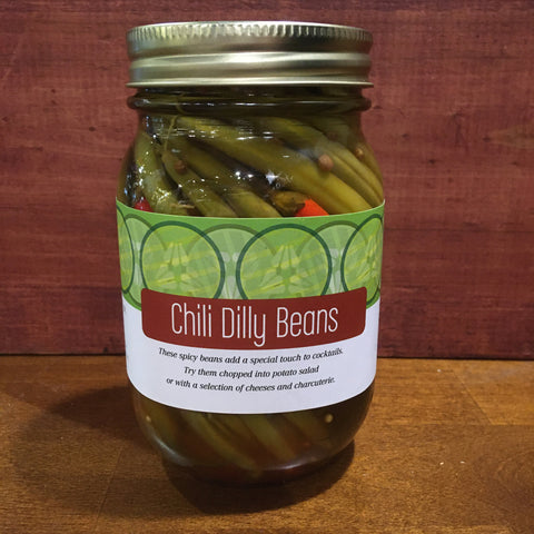 Circle Canning - Chily Dilly Beans