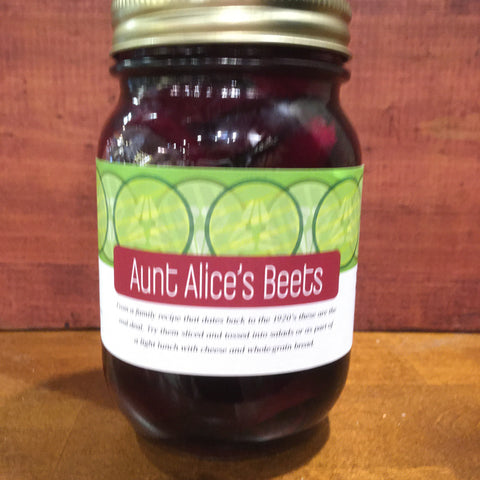 Circle Canning - Aunt Alice's Beets