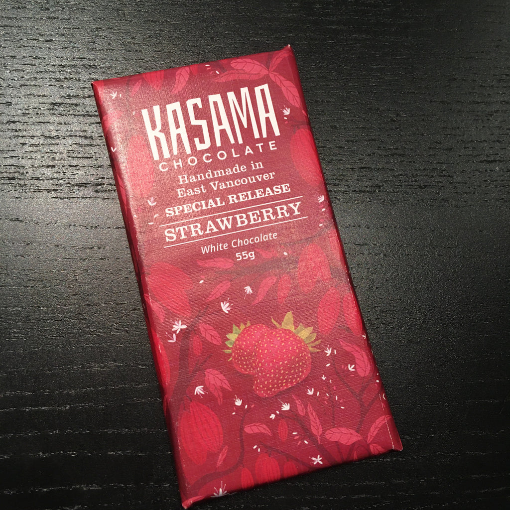 Kasama - Strawberry White Chocolate {Vegan}