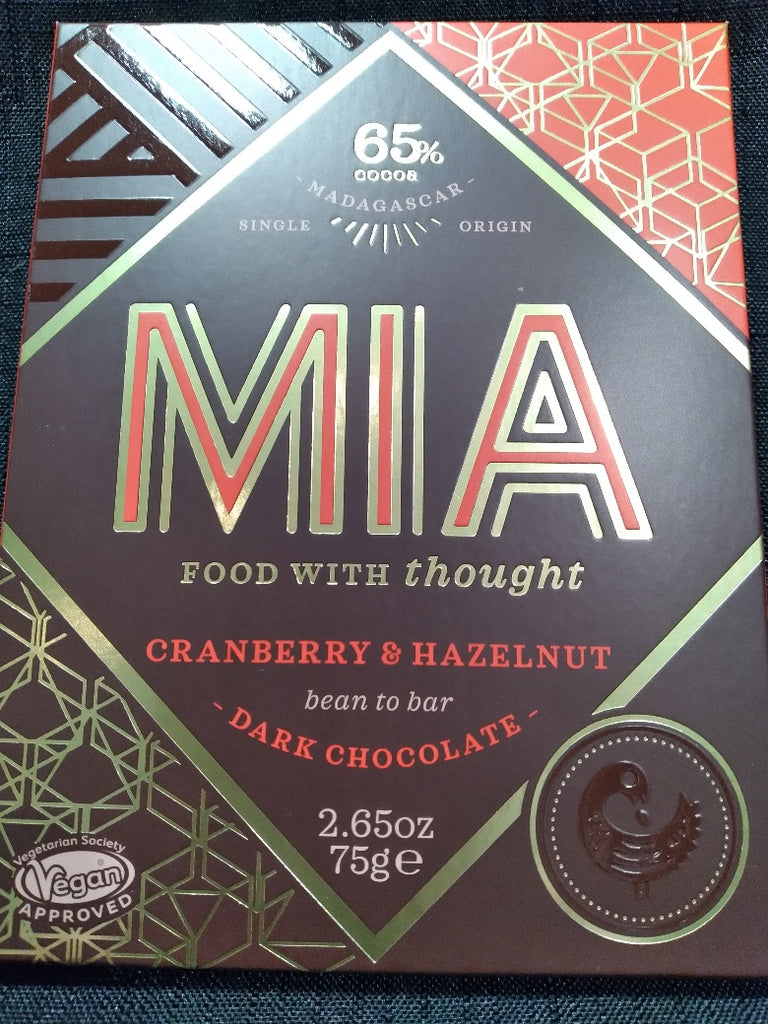 MIA - Cranberry and Hazelnut Bar