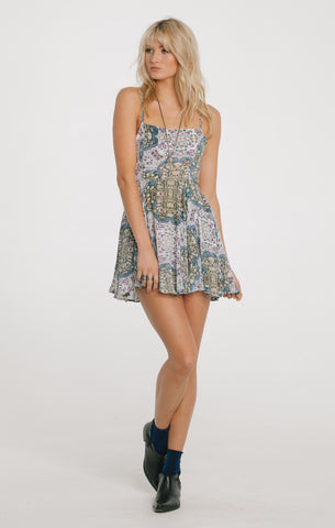 SUNSET BLUES SHORT DRESS