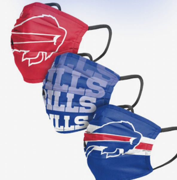 Buffalo Bills Face Mask 3-pack