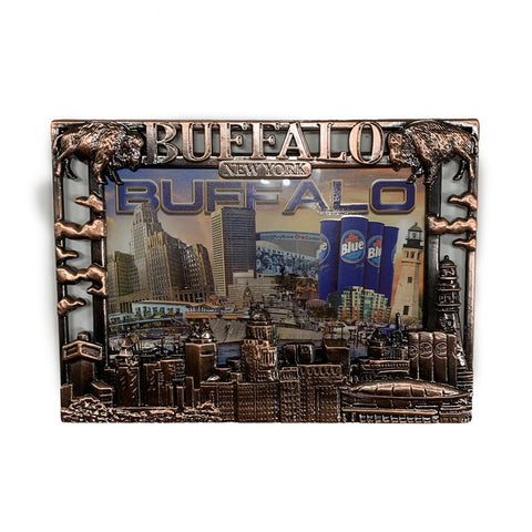 Buffalo Metal Picture Frame