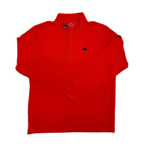 Nike Dri-Fit Victory Half-Zip Red Pullover