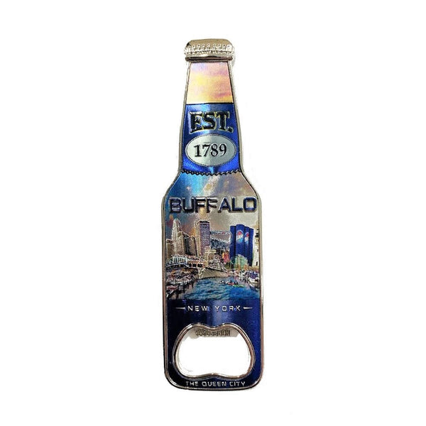 Bottle Opener Waterfront Magnet