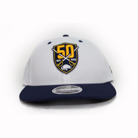 BUFFALO SABRES 50TH SNAPBACK CAP