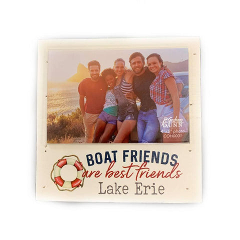"""Boat Friends"" Wooden Sign"
