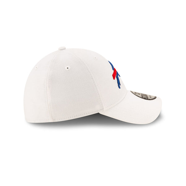 WHITE FITTED BUFFALO BILLS CAP
