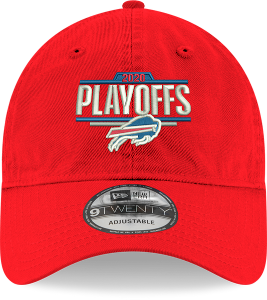 2020 Buffalo Bills Playoffs Official NFL Red Cap