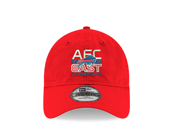 2020 Buffalo Bills AFC East Division Champions Official Cap Red