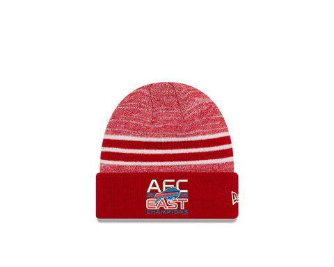 2020 Buffalo Bills AFC East Division Champions Official Beanie