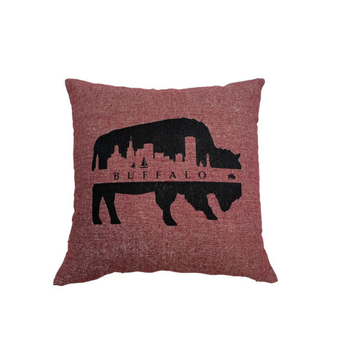 Buffalo Skyline Pillow