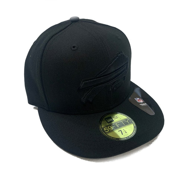 Buffalo Bills Black Fitted Hat