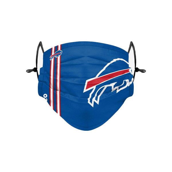 Youth Buffalo Bills On Field Pleated Face Covering