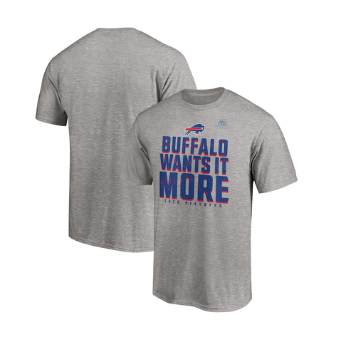 Buffalo Wants it More 🏆 Official Playoffs Tee