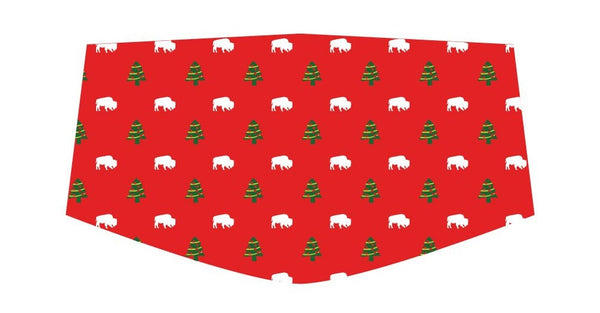 BFLO Christmas Custom 3-Layer Washable Face Masks