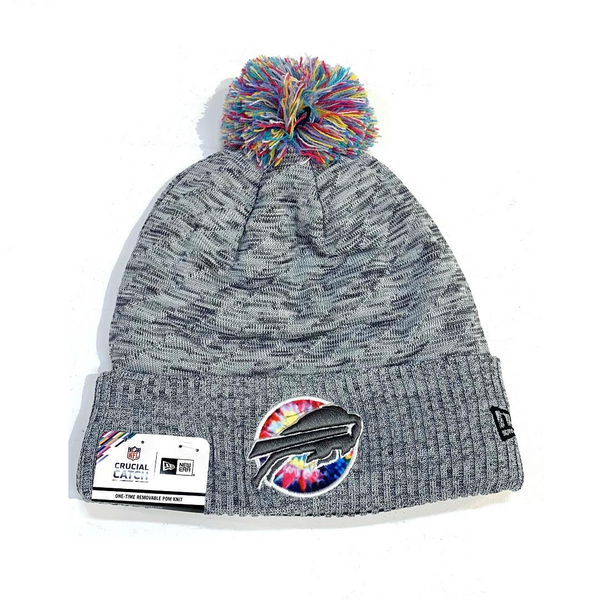 Buffalo Bills Crucial Catch Pom Pom Beanie
