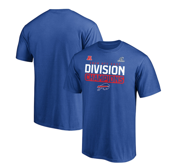 Buffalo Bills 2020 AFC East Division Champions Flying High T-Shirt - Royal