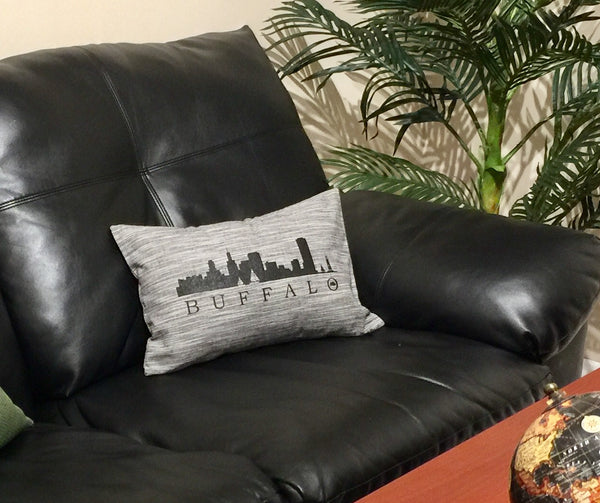 BFLO Skyline Lumbar Accent Pillow