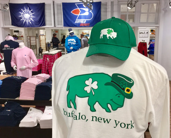 BFLO Irish St. Patrick's Day Long Sleeve Pocket T-Shirt
