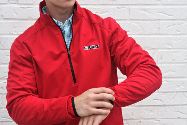 BFLO Half-Zip Softshell Jacket