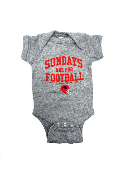 """Sundays are for Football"" Onesie"