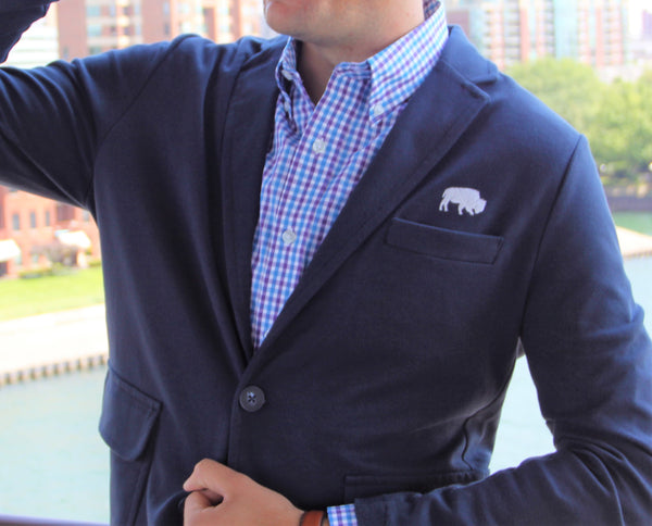 BFLO Nautical Navy Blazer