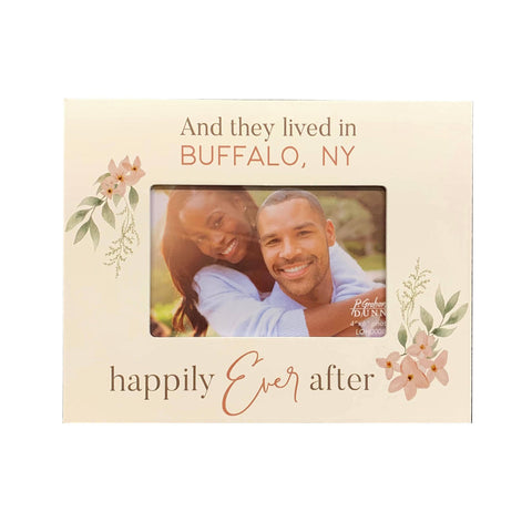 """And They Lived Happily Ever After"" Picture Frame"