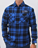 BFLO Midnight Blue Flannel