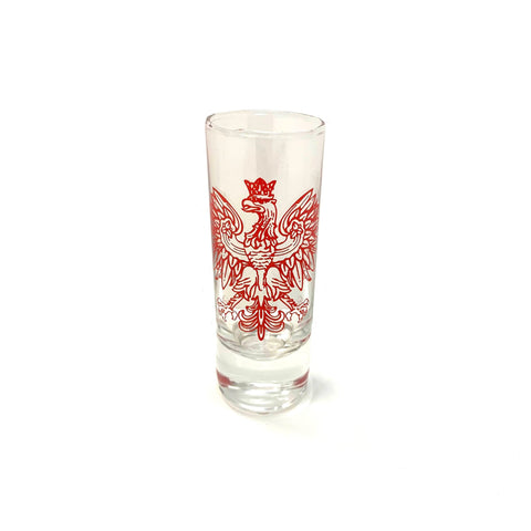 Polish Falcon Shot Glass
