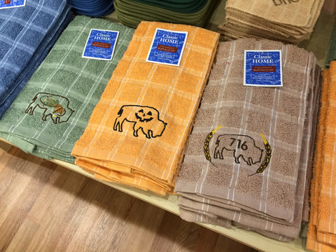 BFLO Fall Harvest Hand Towels