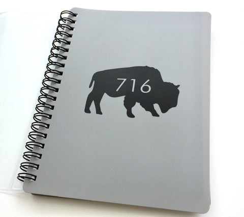 BFLO 716 Notebook with Pencil Pouch