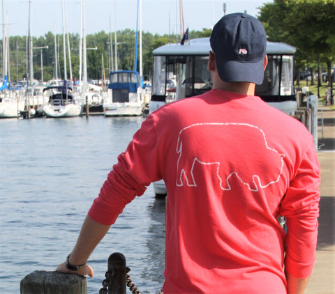 BFLO Lake Life Vintage Long Sleeve Tee