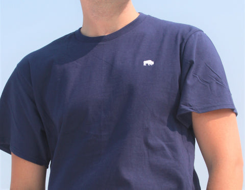 BFLO Embroidered Buffalo Classic Tee-Shirt