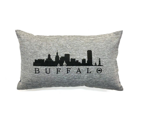 Grey Buffalo Skyline Lumbar Pillow