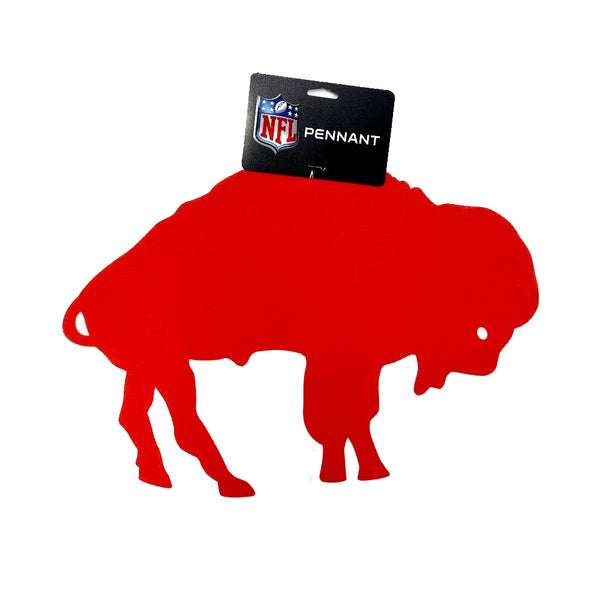 Bills Retro Standing Buffalo Pennant