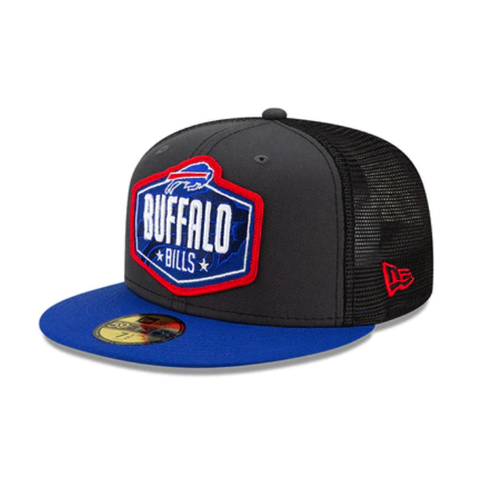 NFL21 Draft Buffalo Bills Fitted Snapback