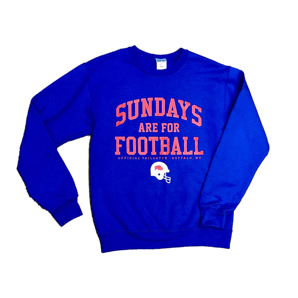 Sundays Are For Football Crewneck Sweatshirt