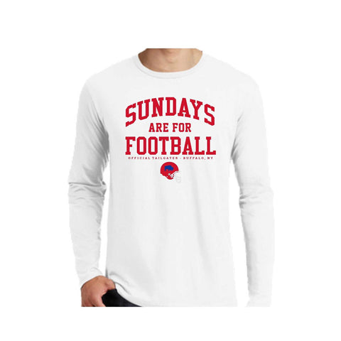 Sundays Are For Football White LST