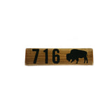 BFLO Buffalove Rustic Wooden Sign