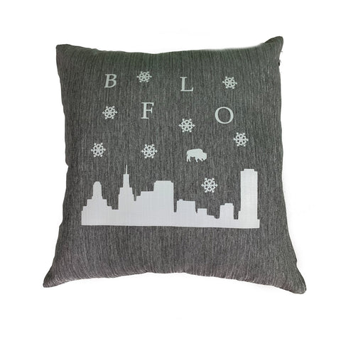 BFLO Lake Effect Throw Pillow