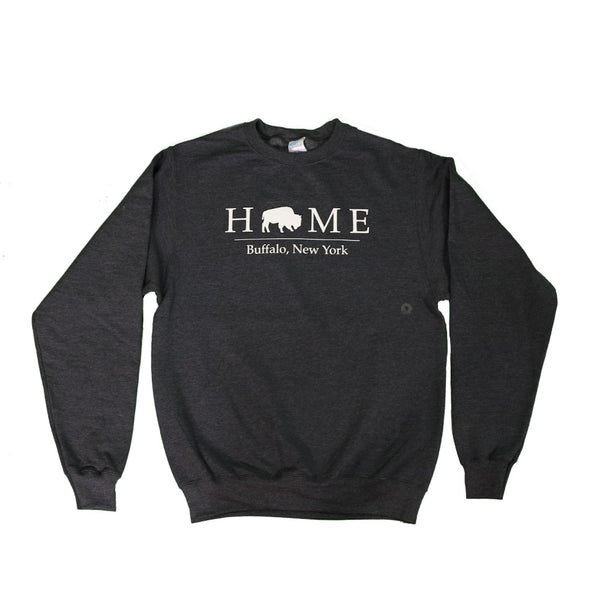 BFLO Heather Grey Crewneck