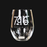 BFLO 716 Stemless Wine Glass