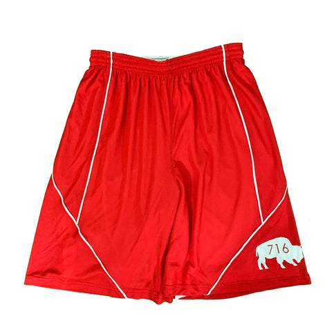 Red 716 Running Shorts